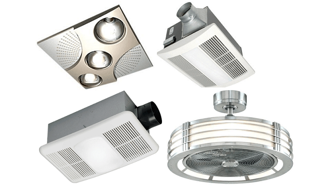 7 Best Bathroom Exhaust Fans with Light and Heater (2019 ...
