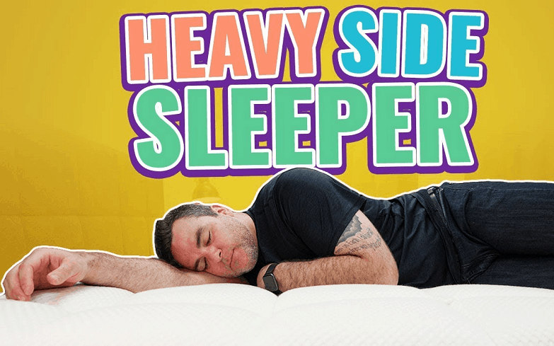 best mattresses for overweight side sleepers